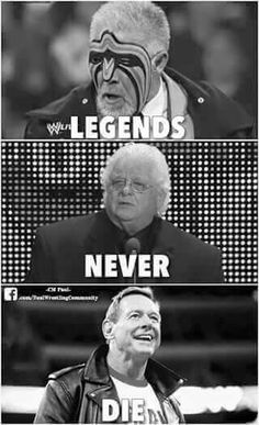 Ultimate Warrior, American Dream Dusty Rhodes, and Rowdy Roddy Piper. Special place in my heart for them Watch Wrestling, Wrestling Wwe, Wrestling Stars, Lucha Underground, Attitude Era, Wwe Quotes, Wwe Wrestlers, Famous Wrestlers, Roddy Piper