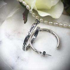 Open Hoop Earrings – Belvie Jewelry