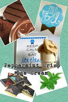 @Nia Setia chocolate peppermint crisp #icecream Peppermint Crisp, Cold Ice, Sorbet, Icecream, Artisan, Candy, Chocolate, Gold, Products