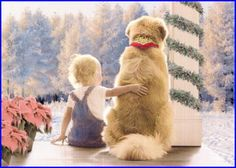 Golden Retriever Christmas Dreams Card by #AugieDoggyStore. SOLD ...