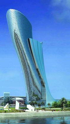 La Torre Capital Gate de Abu Dhabi ha sido confirmada por el libro Guinness de los records como la torre inclinada más grande jamás construida por el hombre. Este reconocimiento ha sido otorgado por el Guinness después de meses de estricta evaluación por un comité que comenzó en enero la finalización de la fachada exterior…