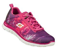 784ead51fa4e Skechers FLEX APPEAL-TRADE WINDS Women s Training Shoes RASPBERRY 12056RAS   SKECHERS  RunningCrossTraining Trade
