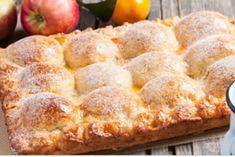Пирог из творожного теста с яблоками. Проверенный семейный рецепт!