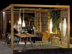 GARDEN FURNITURE - Gazebo Isam in legno