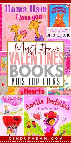 The Best Valentine's Day Children's Books - Check out these awesome Valentine's Day books for kids. Funny, silly and sweet Valentines themed - Best Children Books, Kids Story Books, Toddler Books, Stories For Kids, Childrens Books, Educational Activities For Kids, Outdoor Activities For Kids, Valentines Day Activities, Family Activities