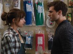 Fifty Shades of Grey: First full scene shows Jamie Dornan buying rope from Dakota Johnson - News - Films - The Independent