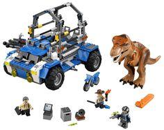 Lego-Jurassic-World-T. Rex Tracker