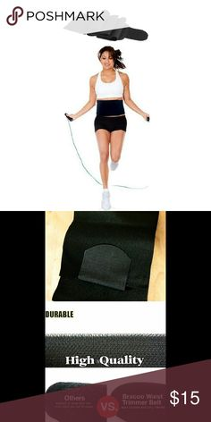 Sauna Waist Trimmer Shaper Trainer Belt Wrap Brand new un-used Lose inches Reduce bloating n muffin top Eliminate love handles Flatten belly n improve posture Use while exercising n watch the fat melt off Perfect for men & women Neoprene Waist Belt Adjustable sizing  Can make the belt as tight as u want for maximum waist cinching One size fits most up to 46in waist  What u see is what u get Super fast Next day shipping Bundle n save I'm raising money for a family member in need, every like…