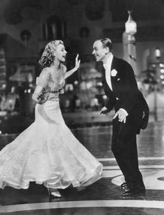 Fred and Ginger. 'Shall we Dance'
