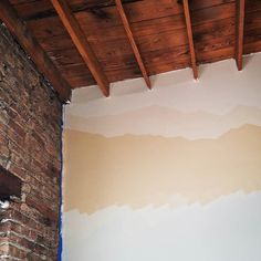 Painting the bedroom.