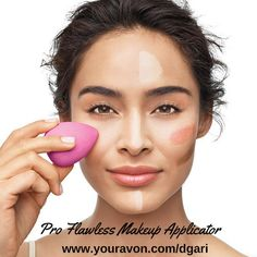 https://www.avon.com/product/avon-pro-flawless-makeup-applicator-56845?rep=dgari Use for a flawless finish! Magic! #avon #flawless #beauty #makeup #applicator