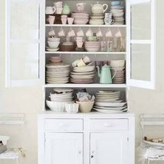 Nice way to store cups etc.