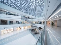 Image 1 of 31 from gallery of Shaoxing CTC Mall Interior Design / ATAH. Photograph by Shiromio Commercial Architecture, Commercial Interior Design, Commercial Interiors, Amazing Architecture, Architecture Design, Decorating Blogs, Interior Decorating, Boutique Interior Design, Interior Shop
