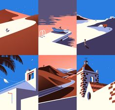 Malika Favre - On The Draw - Handsome Frank Illustration Agency