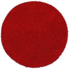 @Overstock - Enhance your home decor with this handmade Shagadelic shag rug. This ultra thick and plush rug is handwoven of chenille using a unique twisting method. This rug features shag pattern in vibrant shade of red.     http://www.overstock.com/Home-Garden/Hand-woven-Shagadelic-Red-Chenille-Rug-3-Round/6055455/product.html?CID=214117 $33.99