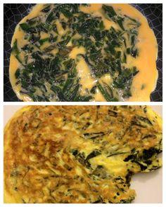 Tortilla con alga wakame