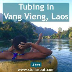 Tubing in Vang Vieng, Laos   Stella's Out…