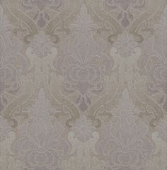 Albany Luna (FD66540) - Albany Wallpapers - A beautiful damask design in a tie-dye effect. Showing in dark purple, gold and silver with metallic effects. Other colour ways available. Please request a sample for true colour match. Paste-the-wall products.