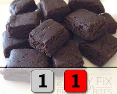 21 Day Fix Recipes | Protein Brownie Bites