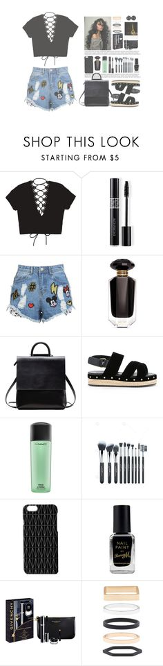 """""""We can't back down"""" by infinite-sea ❤ liked on Polyvore featuring Christian Dior, Disney Stars Studios, Victoria's Secret, Muveil, MAC Cosmetics, Dagmar, Barry M, Givenchy, Polaroid and Accessorize"""