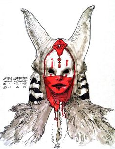 "Iain McCaig concept for a ""Sith Lordess"""