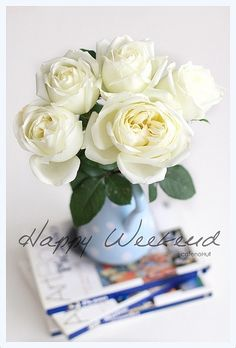 Happy Weekend by cafe noHut, via Flickr