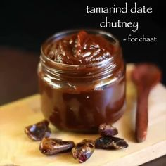 Discover recipes, home ideas, style inspiration and other ideas to try. Tamarind Recipes, Puri Recipes, Pakora Recipes, Chaat Recipe, Spicy Recipes, Pani Puri Chutney Recipe, Cooking Recipes, Tamarind Chutney, Indian Pickle Recipe