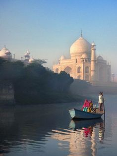 '..and in the distance gleaming, the dome and spires of the Taj Mahal, across the Yamuna River.' #novelines