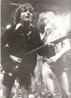 AC/DC, CBGB's, 1977