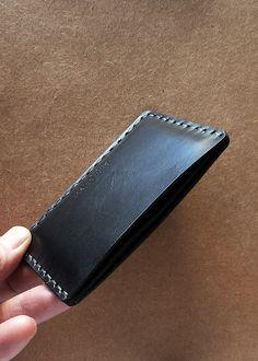 Handmade Mens Card Case  card holder card wallet slim by PrimObject, $39