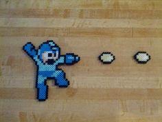 Jumping Mega Man