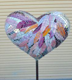 Ellen Burr, Pink, 2016 mosaic