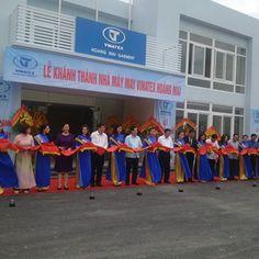 Cho thuê nhà bạt-Khánh thành Nhà máy May Vinatex Hoàng Mai