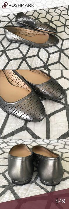 NIB Vince Camuto Leresa Shoes - Size 7.5 NIB Vince Camuto Leresa Pewter color Shoes in Size 7.5. Smoke free home. Vince Camuto Shoes Flats & Loafers
