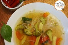 I have always been fond of clear soups. They are flavourful, light and don't make you feel overly full. One day I was surfing on web to look for some delicious clear soup options. I was spell bound by the description of Thai Tom Yum Soup. It was spicy, sour and loaded with veggies.…