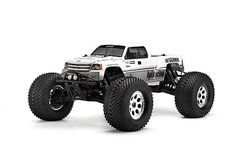 HPI 7124 - HPI GT Gigante Truck Body - Standard Fit To Savage XL - Clear