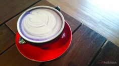 Taro Latte by Flow Coffee, Serpong, Indonesia