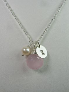Initial Necklace - Awareness Necklace - Personalized Jewelry