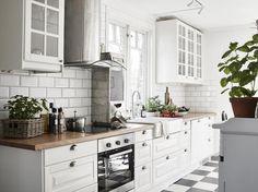 Schöne Küche im Landhaustil