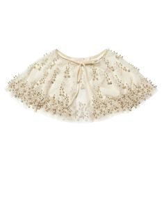 Tutu Du Monde Scattered Pearls Cape || Igloo Kids Clothing