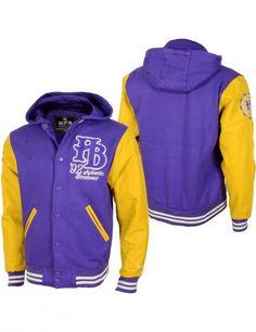 Purple yellow jacket
