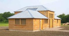 The Foundry by modece architects for greenlight trust. A highly sustainable building made from hemp-lime. traditional construction. passive design
