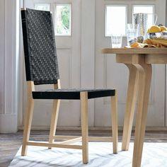 Modern Woven Shaker Chair | west elm