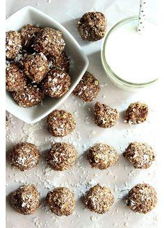 Des energy balls au nutella et à la noix de coco