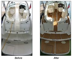 Order a complete interior kit for your whole boat for optimum benefits and appearance. Our most popular product! Our Aqua Marine Deck Pads are a nonskid, non-absorbant foam surface for added traction to help keep you stable while casting, standing, sitting.  These heavy duty, marine grade pads are made from a closed cell marine grade foam and will not absorb water.  They are easy to install with the pressure sensitive adhesive backing. UV Protection.