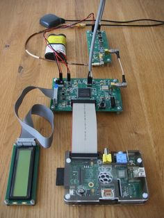 Homemade GPS receiver with a Raspberry Pi. Check out http://arduinohq.com for cool new arduino stuff!