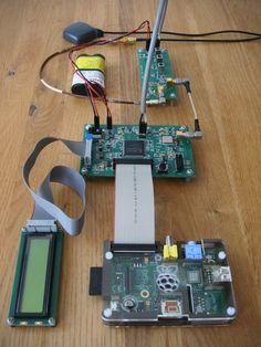 Homemade GPS receiver with a Raspberry Pi. Check out http://arduinohq.com for cool new arduino stuff!