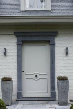 Delicieux Blue Door Frame