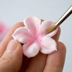 Cómo hacer todo tipo de flores con fondant para tartas, pasteles y cupcakes - El Cómo de las Cosas