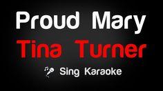 Tina Turner - Proud Mary Karaoke Lyrics